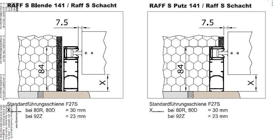 f hrungsschiene raffstore einputzen bauforum auf. Black Bedroom Furniture Sets. Home Design Ideas
