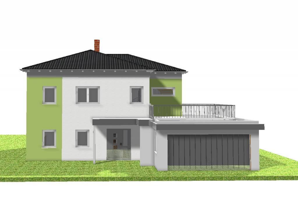 fassade grau wei jetzt auch ohne gerst unsere farbige. Black Bedroom Furniture Sets. Home Design Ideas