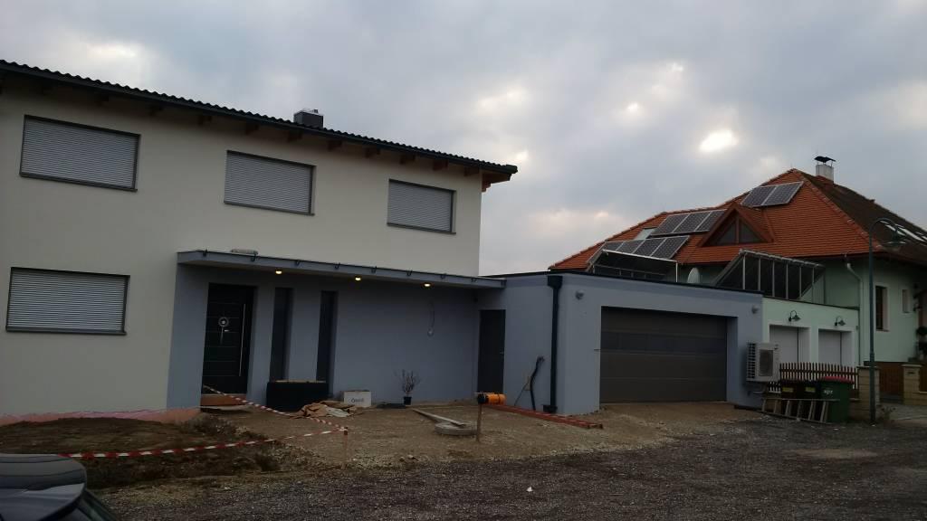 Haus Pultdach Doppelgarage Flachdach Bauforum Auf
