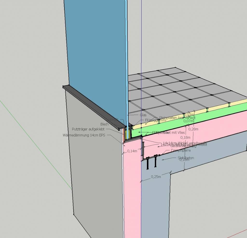 nurglashalterung terrasse bauforum auf. Black Bedroom Furniture Sets. Home Design Ideas