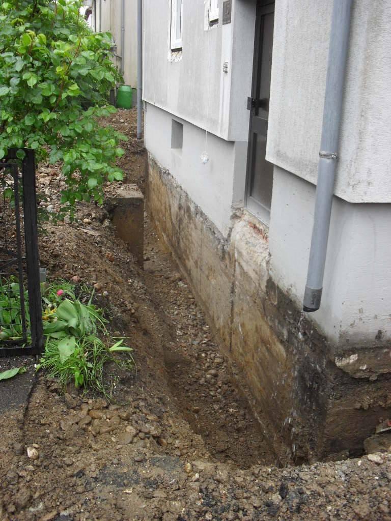 Bevorzugt Kellersanierung aussen Bestandsbau   Bauforum auf energiesparhaus.at DK66