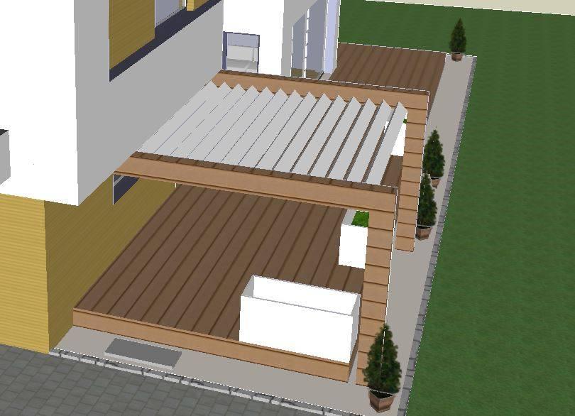 Ausreichend Licht Terrassenuberdachung Bauforum Auf
