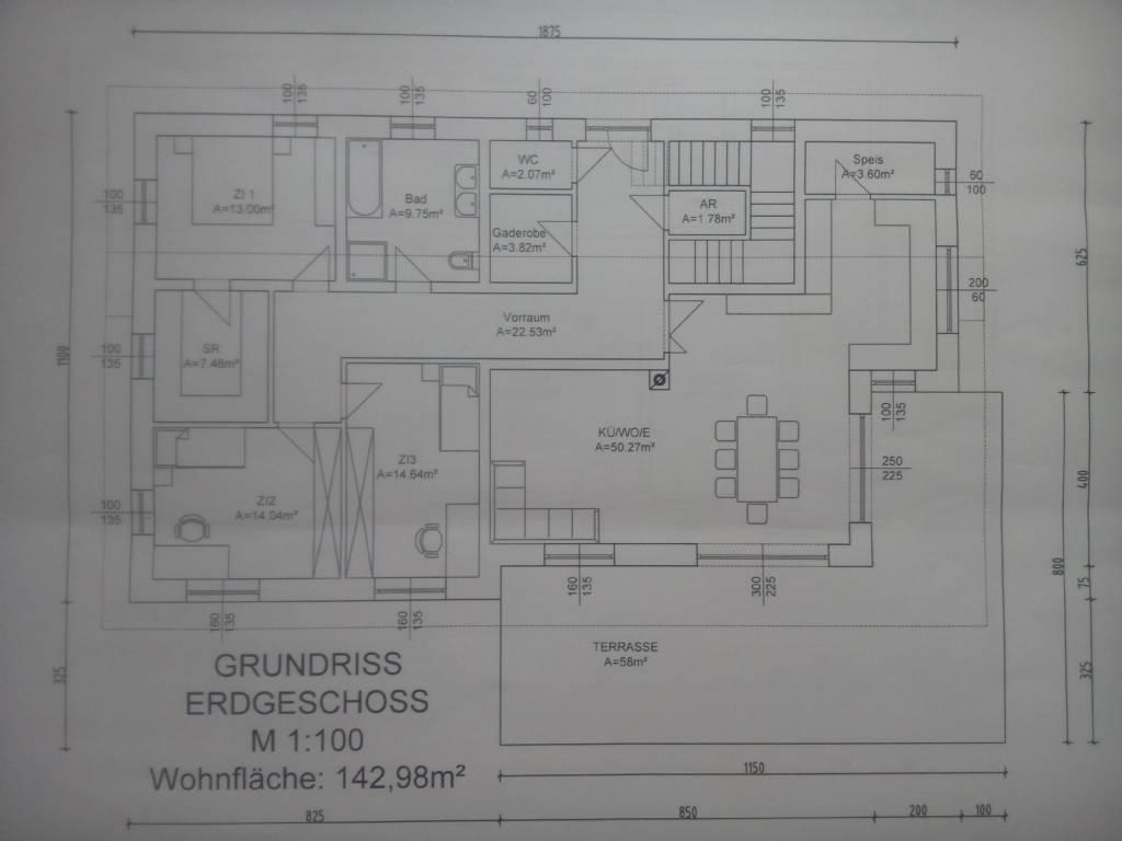 Hanglage - Anfänger - Entwurf für EFH