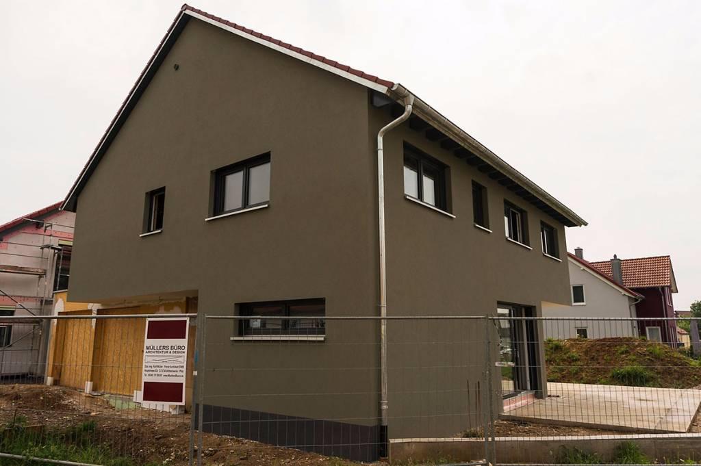 Erfahrungen Mit Cortenstahl Als Fassade Bauforum Auf