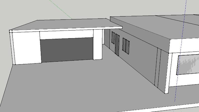 durchgang zwischen garage und haus bauforum auf. Black Bedroom Furniture Sets. Home Design Ideas