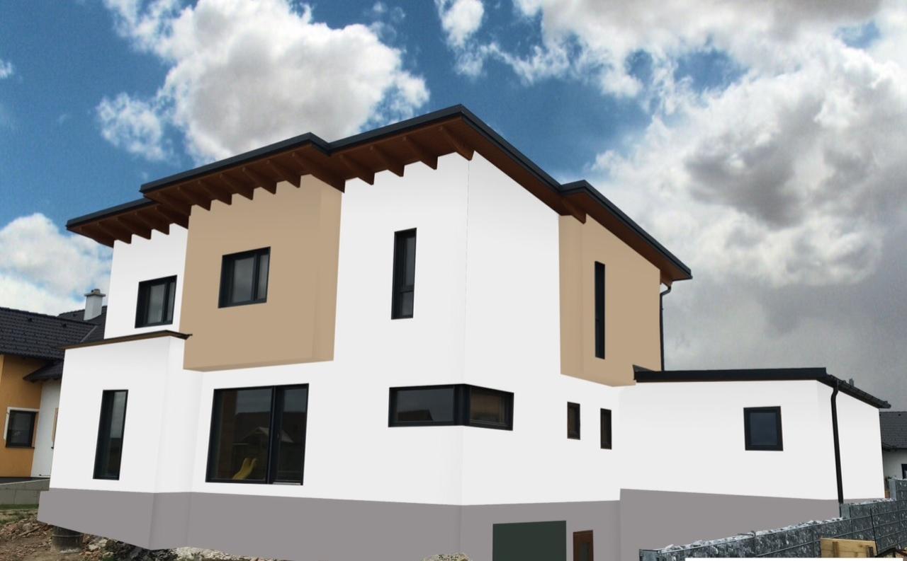 Fassadengestaltung seite 2 bauforum auf for Fassadengestaltung beispiele bungalow