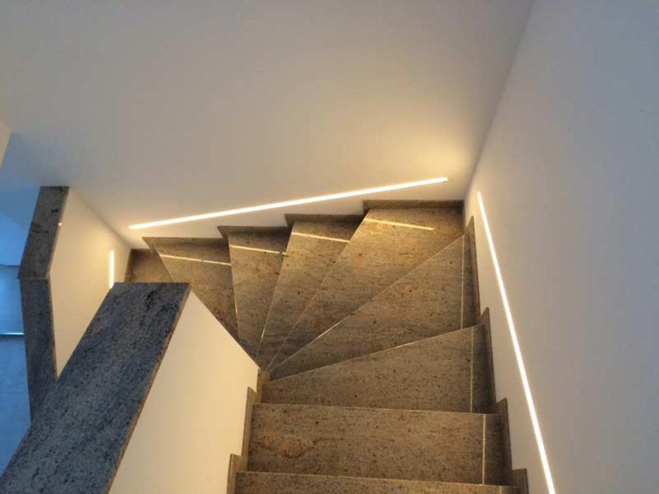 Einbauspots Als Treppenbeleuchtung Bauforum Auf Energiesparhaus At