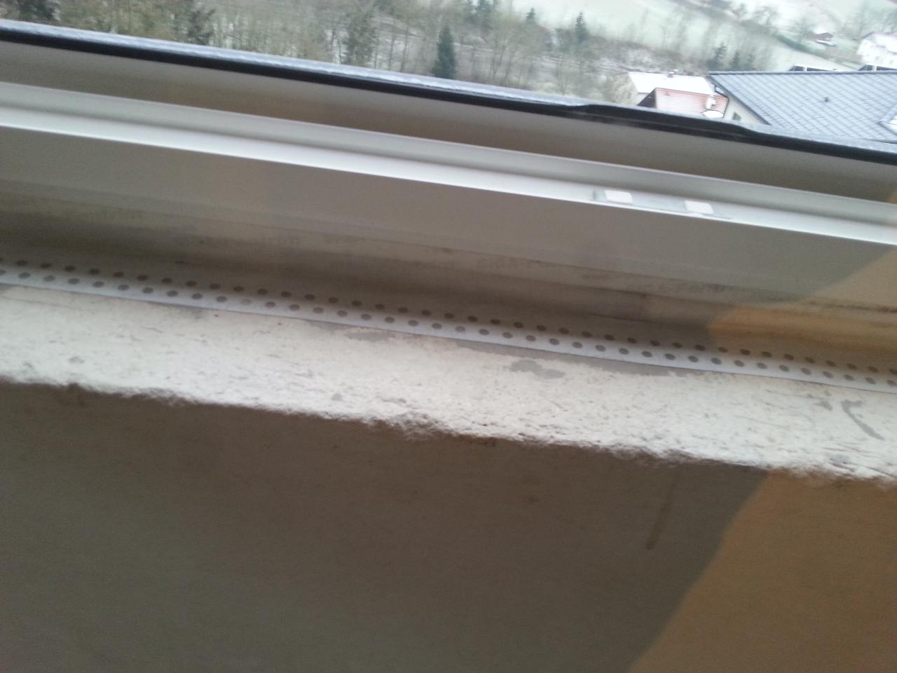 Fensterbänke innes setzen | Bauforum auf energiesparhaus.at