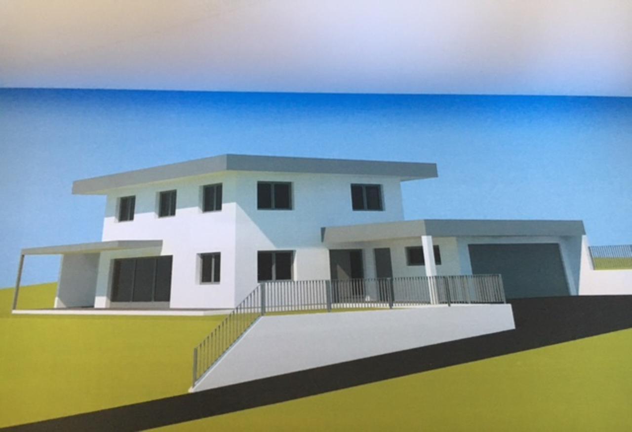 Neubau EFH 130m² l.Hang