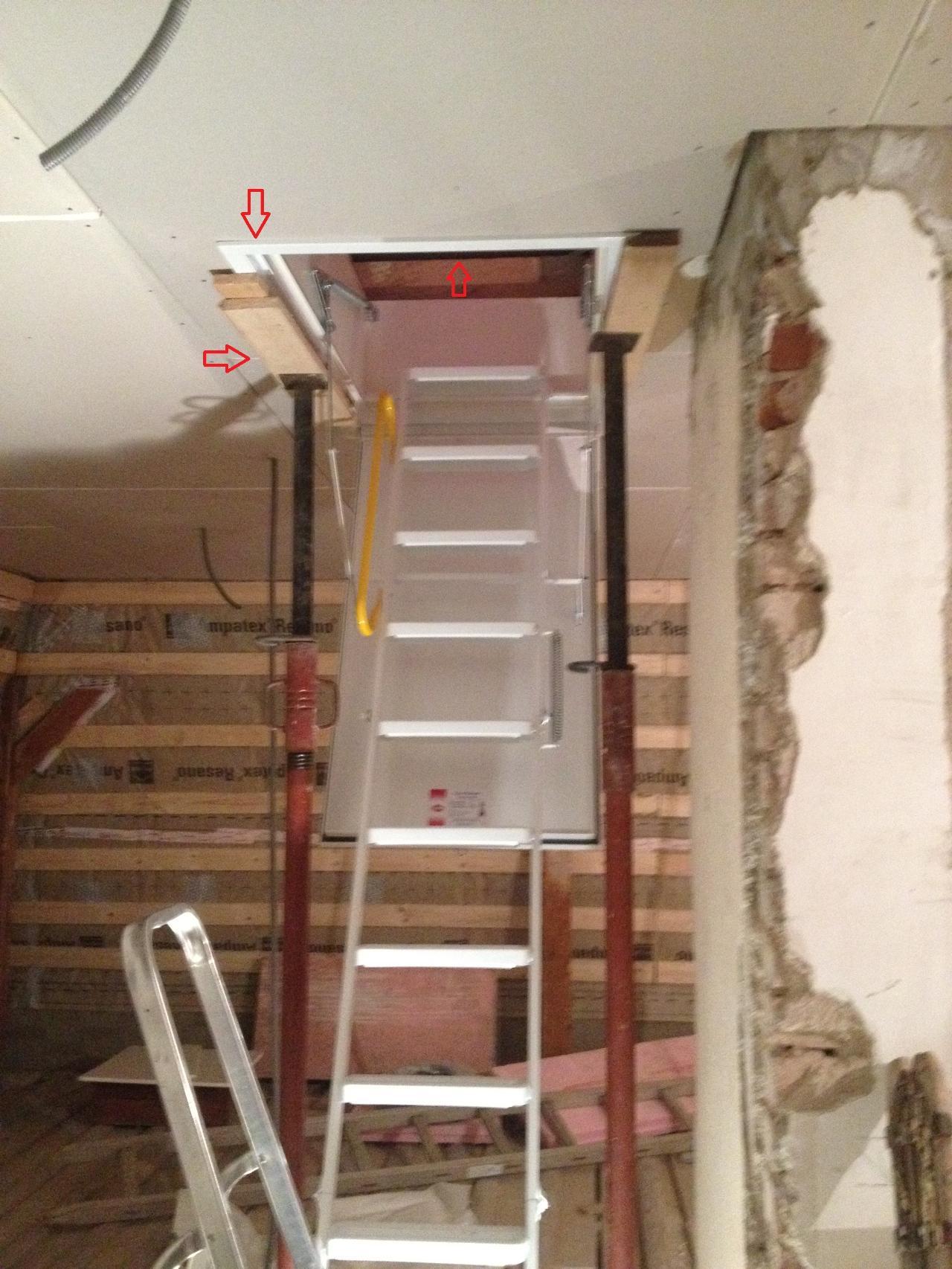 Montage Dachbodentreppe Bauforum Auf Energiesparhaus At