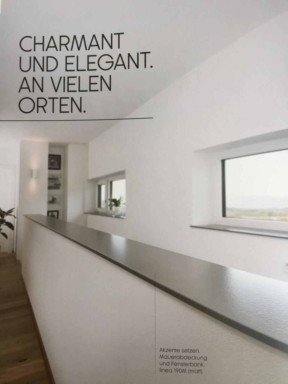 Helopal kunststein 95m od fenorm trend fensterforum auf - Fensterbank setzen ...