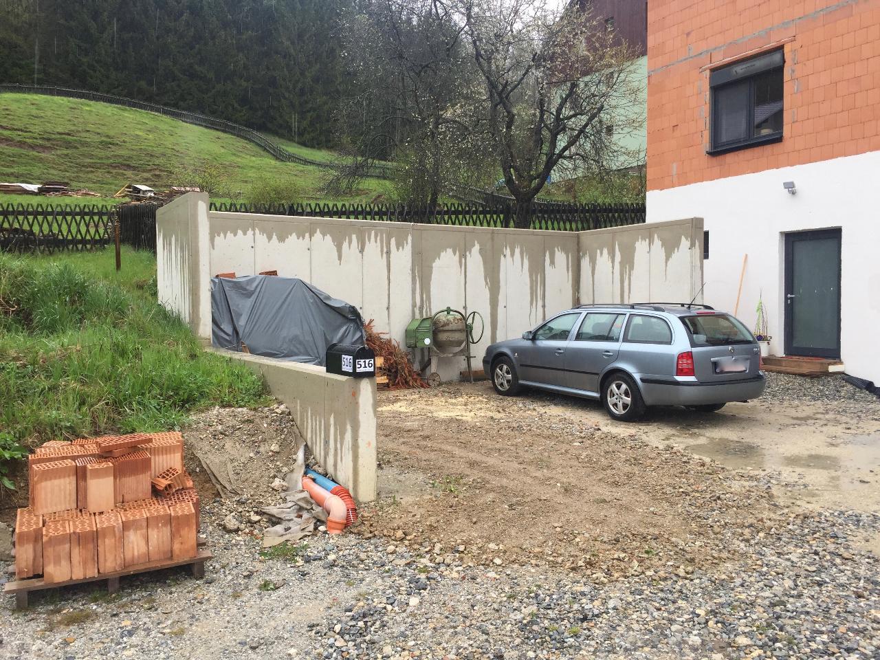 Begehbarer carport dachaufbau bauforum auf energiesparhaus at
