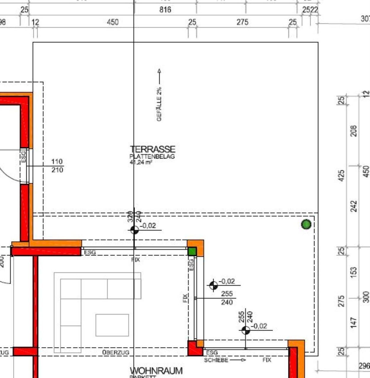 terrassenaufbau & gefälle   forum auf energiesparhaus.at