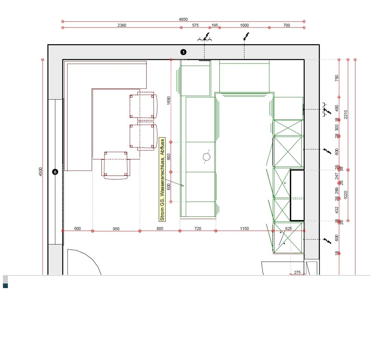 k che le mans ma e k che wei und eiche spritzschutz glas individuell ikea pimpen m lleimer. Black Bedroom Furniture Sets. Home Design Ideas