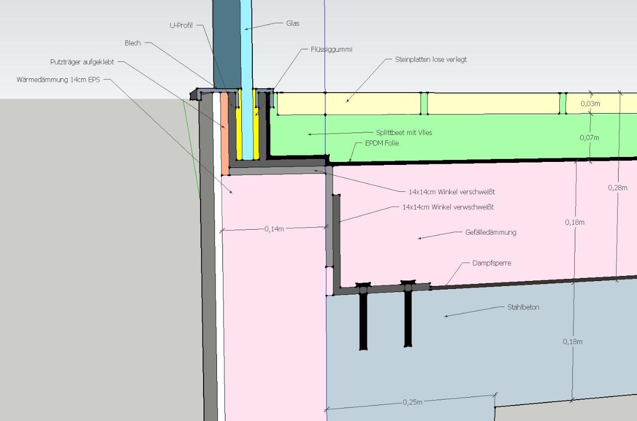 Aufbau Und Abdichtung Balkon Bauforum Auf Energiesparhaus At
