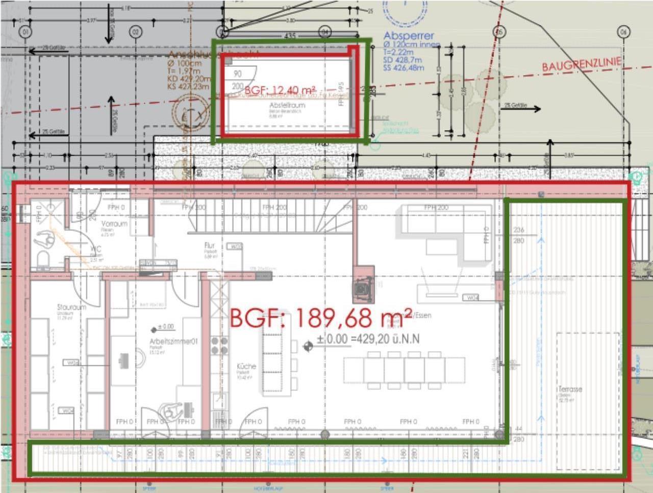 bauabgabe steiermark baurechtforum auf. Black Bedroom Furniture Sets. Home Design Ideas