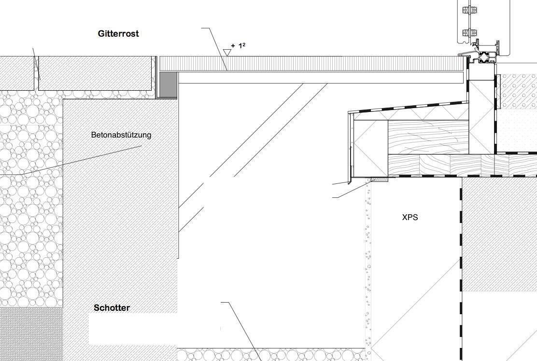 rigol vor terrassent r wie befestigen bauforum auf. Black Bedroom Furniture Sets. Home Design Ideas