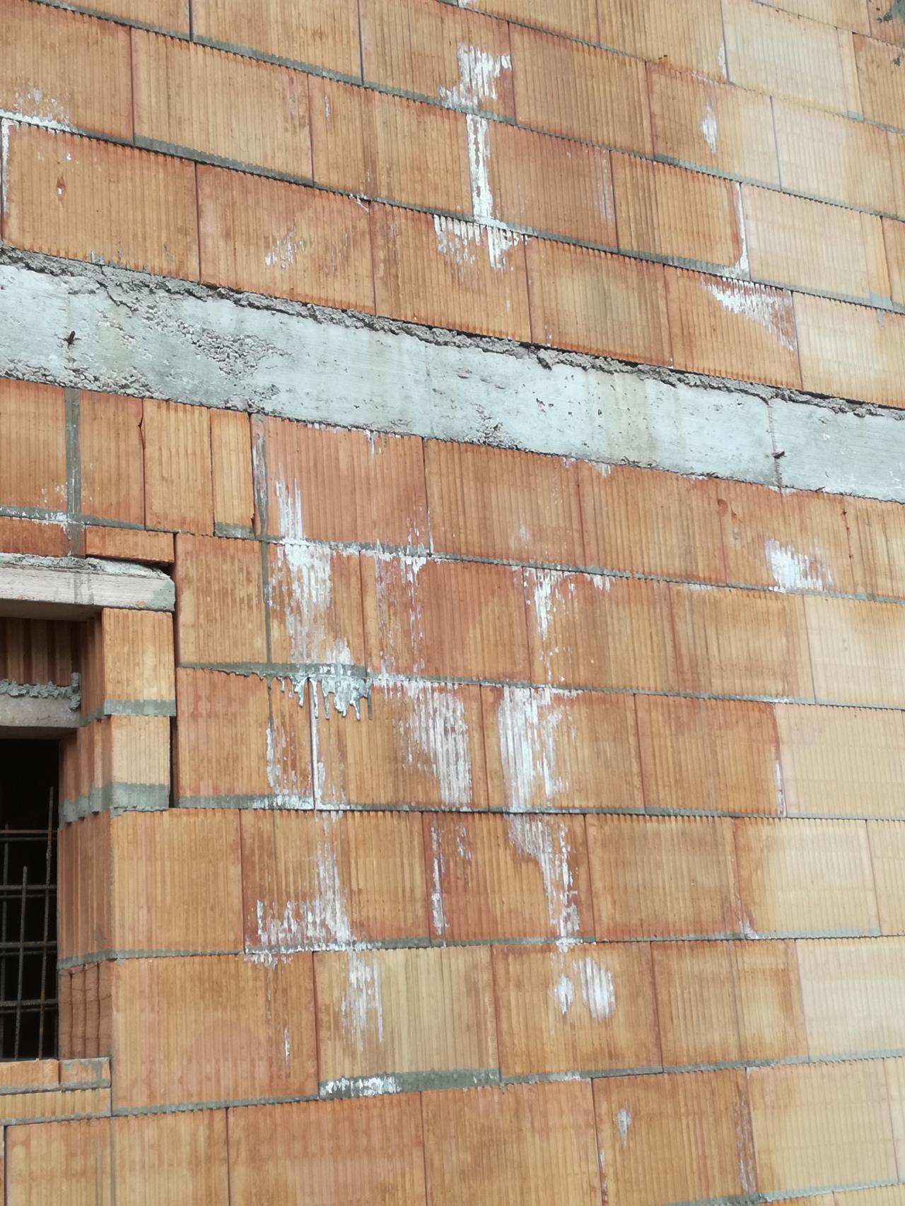 Weisse flecken auf mauer bauforum auf - Flecken weisse wand entfernen ...