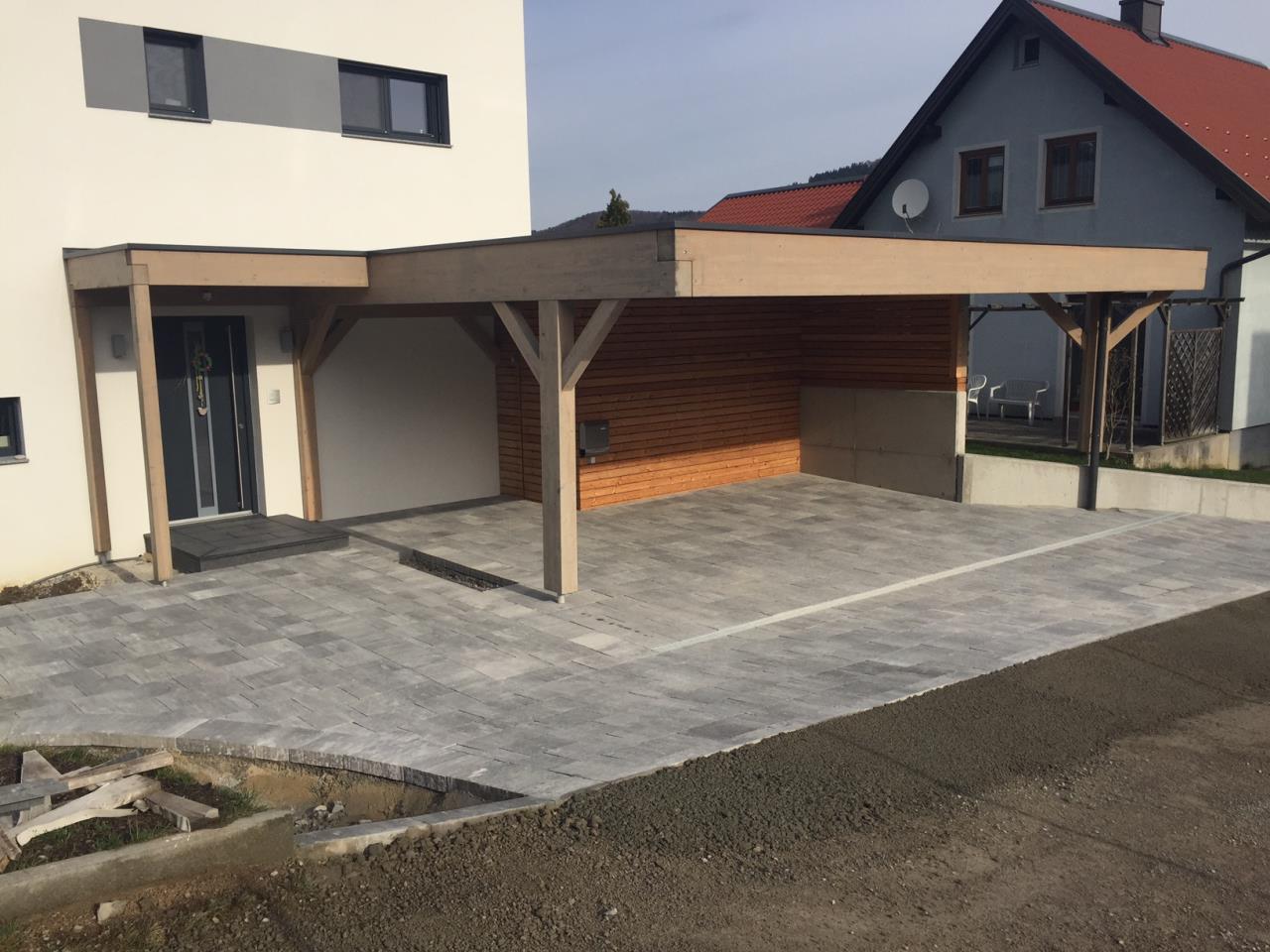 Carport Abstellraum Bauforum Auf Energiesparhaus At