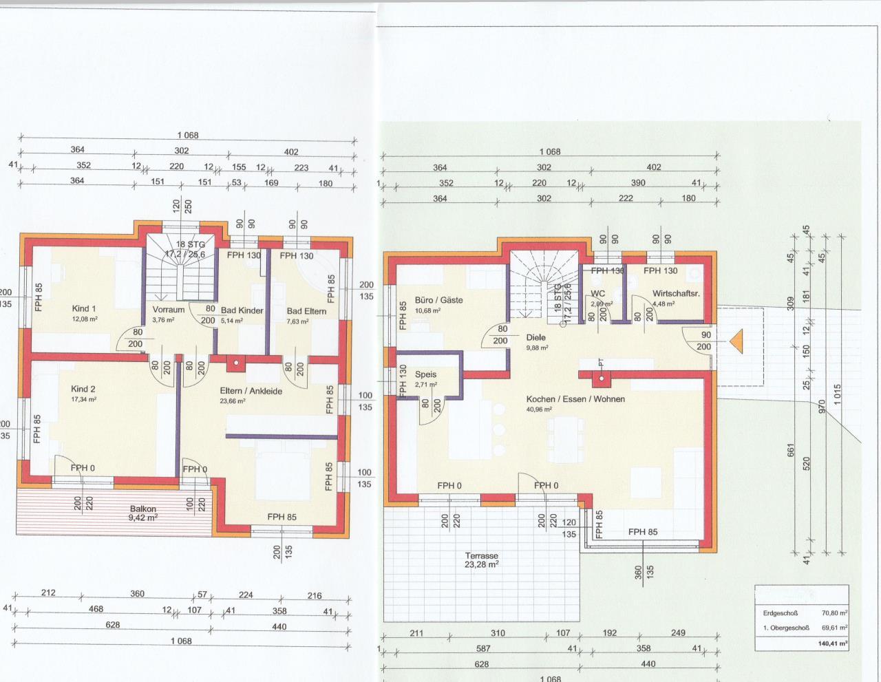 Kosten eines Massivhaus mit 140qm ?? | Bauforum auf energiesparhaus.at