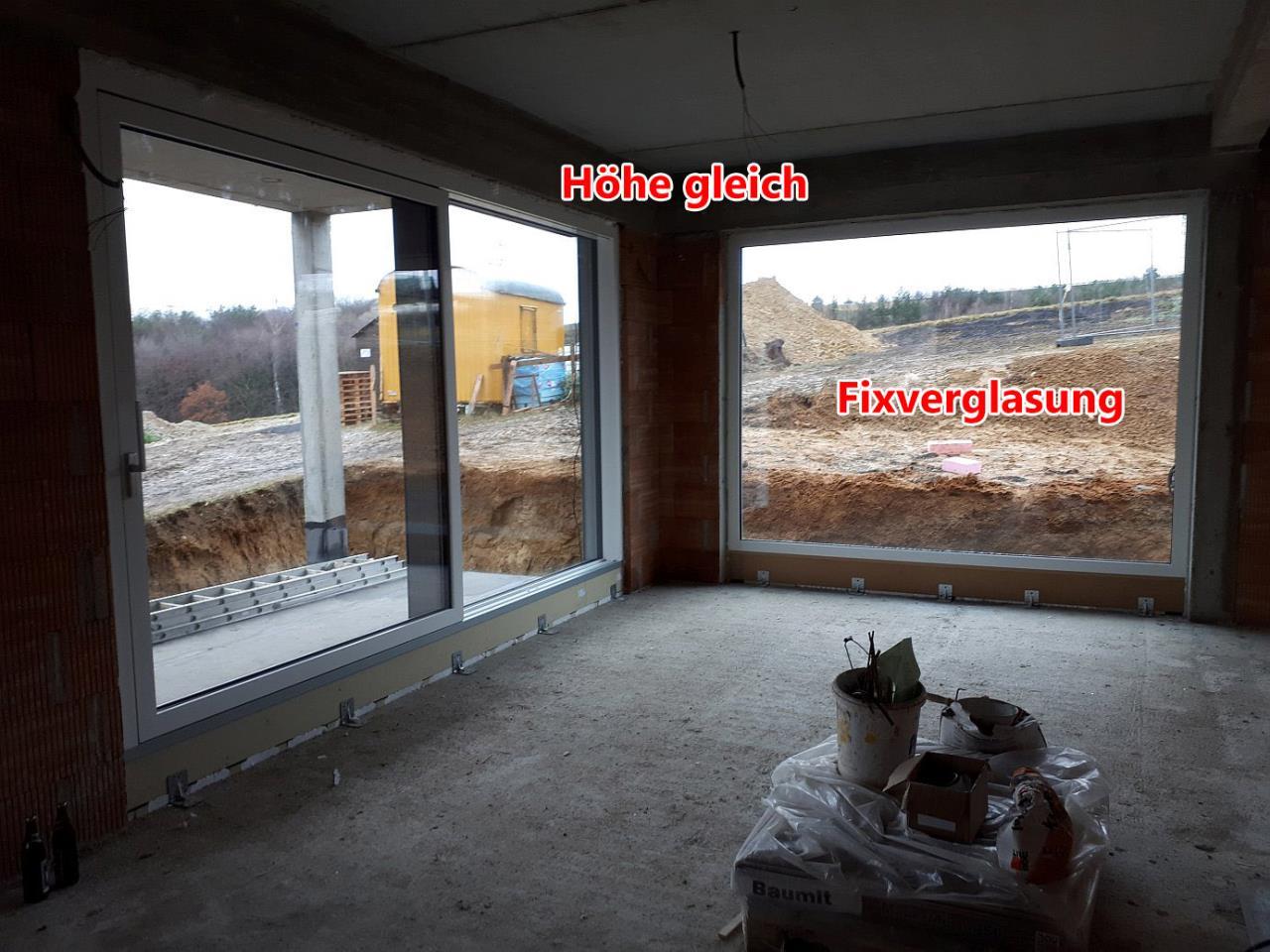 Fensterrahmen soweit als m glich einputzen fensterforum - Fensterrahmen einputzen ...