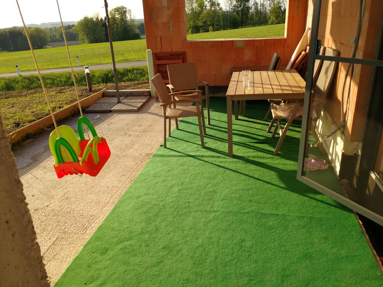 Belag Fur Provisorische Terrasse Gartenforum Auf Energiesparhaus At
