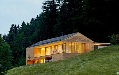 Modernes Haus Trotz Satteldach Bauforum Auf Energiesparhaus At