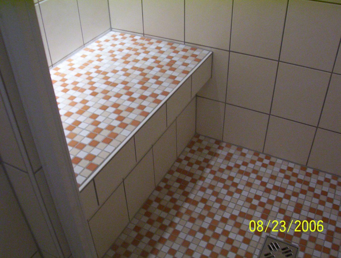 duschplatz selber mauern aus ytong - Dusche Mauern Glasbausteine